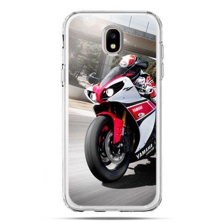 Etui na telefon Galaxy J5 2017 - motocykl ścigacz