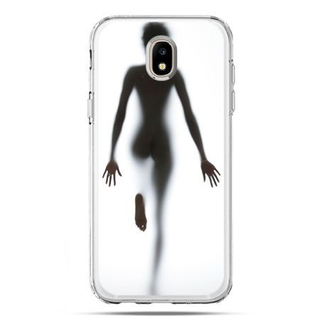 Etui na telefon Galaxy J5 2017 - kobieta za szybą