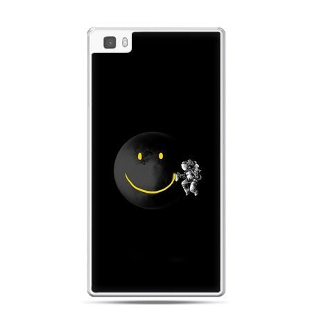 Huawei P8 Lite etui uśmiechnięta planeta - PROMOCJA !