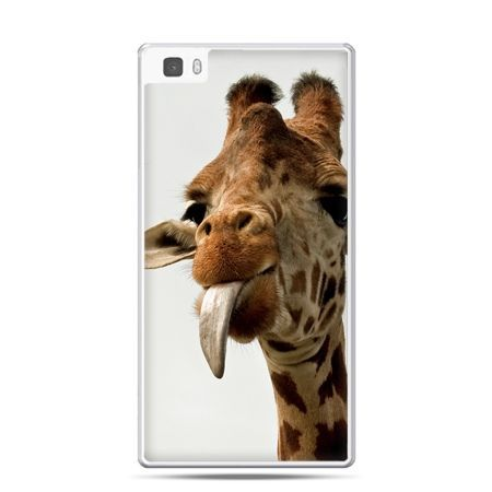 Huawei P8 etui żyrafa z językiem - PROMOCJA !
