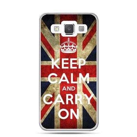Galaxy J1 etui Keep calm and carry on - PROMOCJA !
