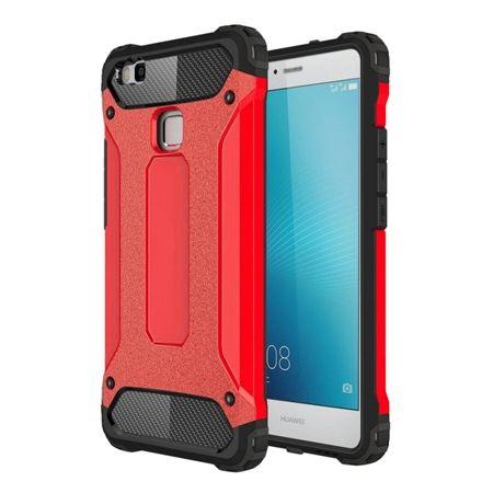 Pancerne etui na Huawei P9 Lite - Czerwony.