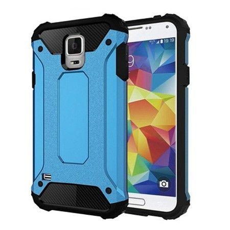 Pancerne etui na Samsung Galaxy S5 / S5 Neo - Niebieski.