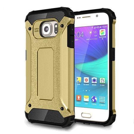 Pancerne etui na Samsung Galaxy S6 - Złoty.