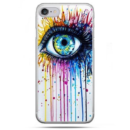 Etui na telefon iPhone 8 - kolorowe oko