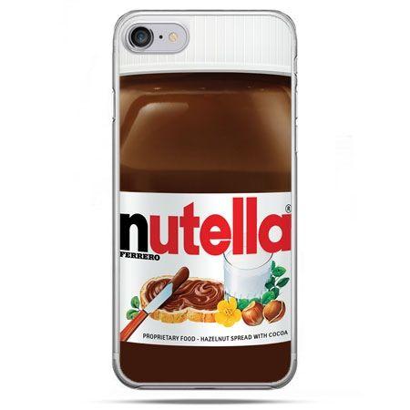 Etui na telefon iPhone 8 - Nutella czekolada słoik
