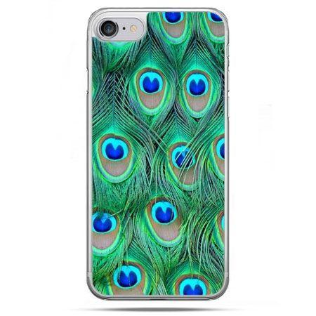 Etui na telefon iPhone 8 - pawie pióra