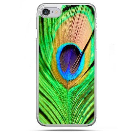Etui na telefon iPhone 8 - pawie oko