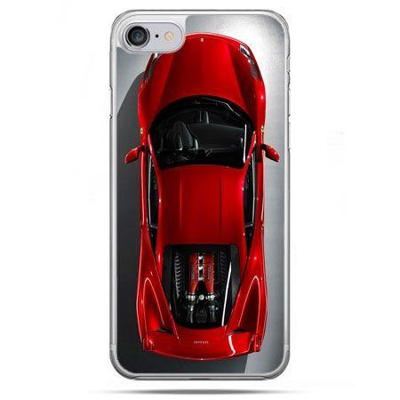 Etui na telefon iPhone 8 - czerwone Ferrari