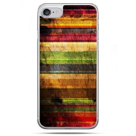 Etui na telefon iPhone 8 - kolorowe deski