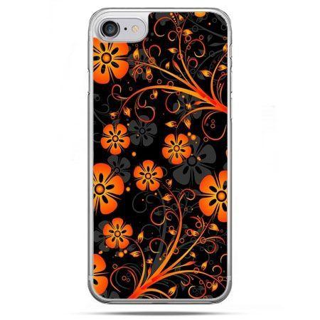 Etui na telefon iPhone 8 - nocne kwiaty