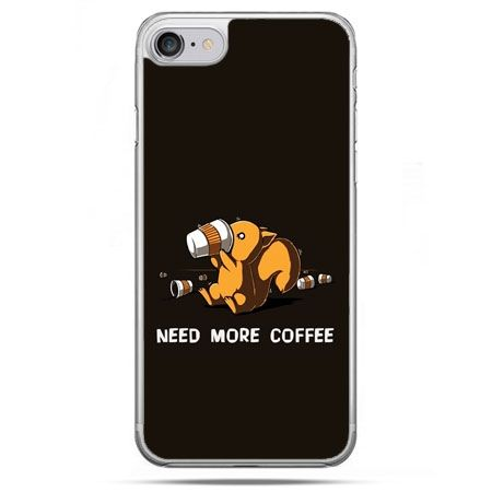 Etui na telefon iPhone 8 - Kawa Need more