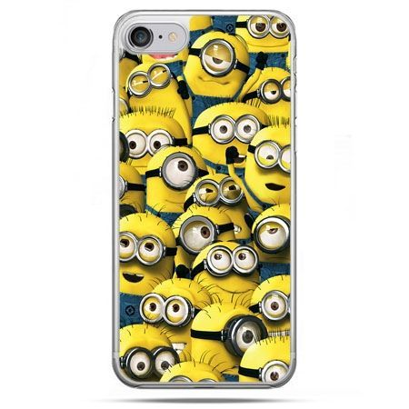 Etui na telefon iPhone 8 - Minionki grupa