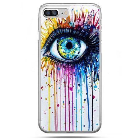 Etui na telefon iPhone 8 Plus - kolorowe oko