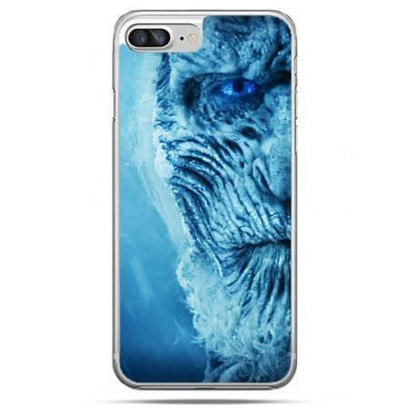 Etui na telefon iPhone 8 Plus - Gra o Tron White Walker