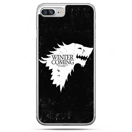 Etui na telefon iPhone 8 Plus - Winter is coming