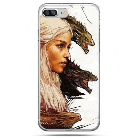 Etui na telefon iPhone 8 Plus - Gra o Tron Daenerys Targaryen