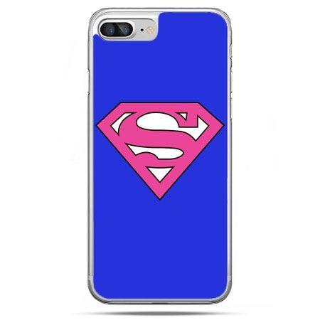 Etui na telefon iPhone 8 Plus - Supergirl