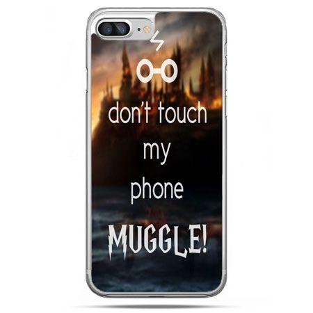 Etui na telefon iPhone 8 Plus - Don`t touch ..Muggle harry Potter