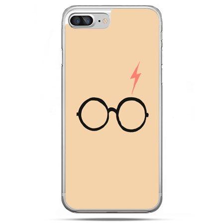 Etui na telefon iPhone 8 Plus - Harry Potter okulary