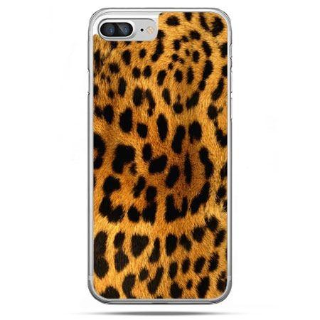 Etui na telefon iPhone 8 Plus - skóra lamparta