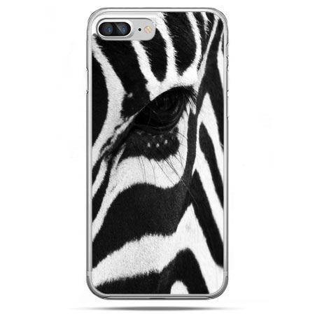 Etui na telefon iPhone 8 Plus - zebra