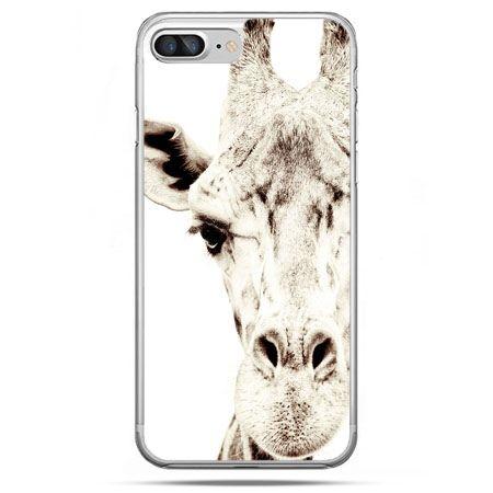 Etui na telefon iPhone 8 Plus - żyrafa