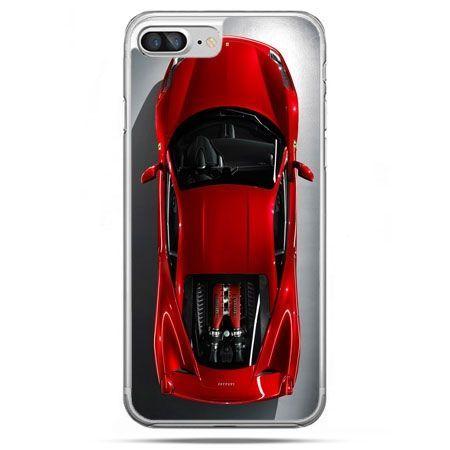 Etui na telefon iPhone 8 Plus - czerwone Ferrari