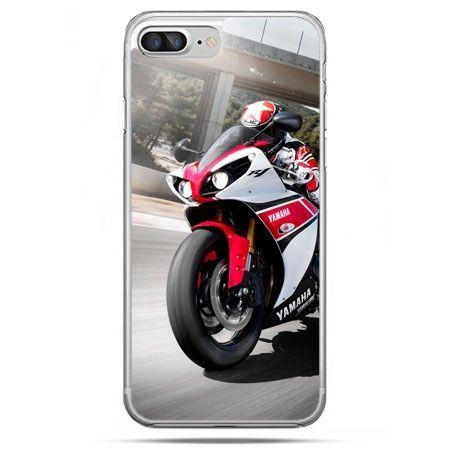 Etui na telefon iPhone 8 Plus - motocykl ścigacz