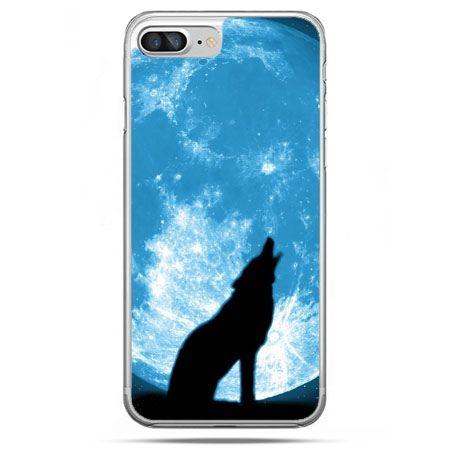 Etui na telefon iPhone 8 Plus - Wilk nocny