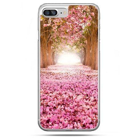 Etui na telefon iPhone 8 Plus - spacer po parku