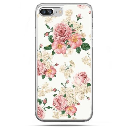 Etui na telefon iPhone 8 Plus - polne kwiaty