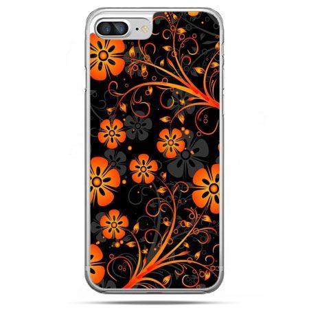 Etui na telefon iPhone 8 Plus - nocne kwiaty