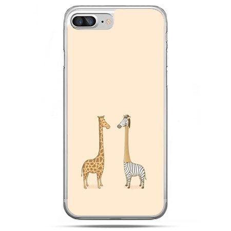 Etui na telefon iPhone 8 Plus - żyrafy
