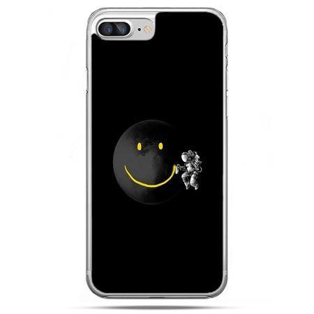 Etui na telefon iPhone 8 Plus - uśmiechnięta planeta