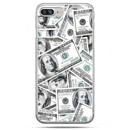 Etui na telefon iPhone 8 Plus - dolary banknoty