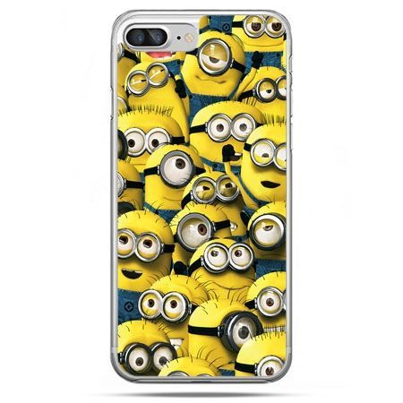 Etui na telefon iPhone 8 Plus - Minionki grupa