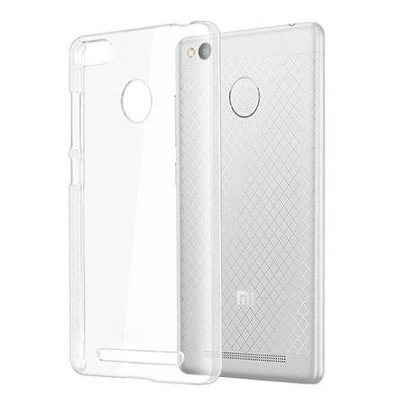 Etui na Xiaomi Redmi 3S silikonowe crystal case - bezbarwne.
