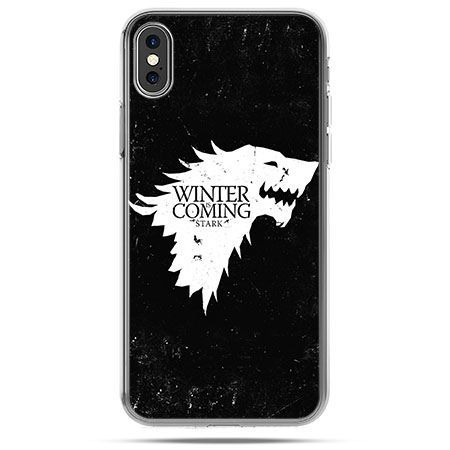 Etui na telefon iPhone X - Winter is coming