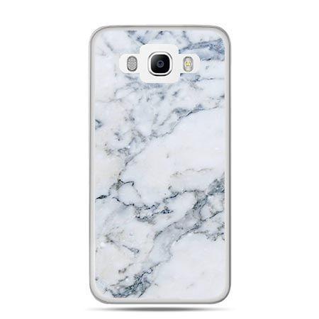 Etui na Galaxy J5 (2016r) biały marmur