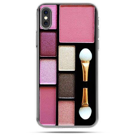 Etui na telefon iPhone X - zestaw do makijażu