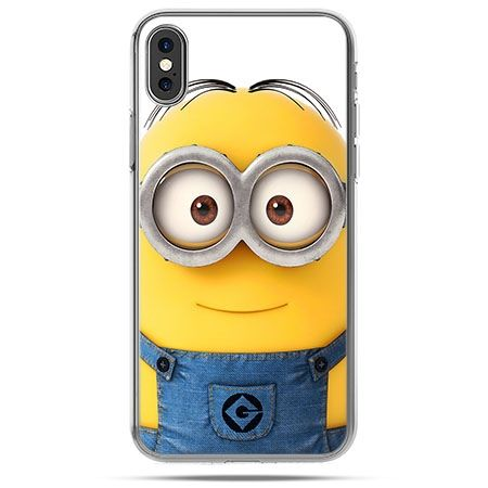 Etui na telefon iPhone X - minion