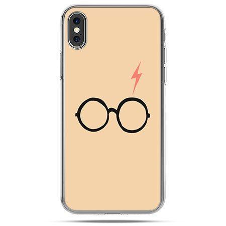Etui na telefon iPhone X - Harry Potter okulary