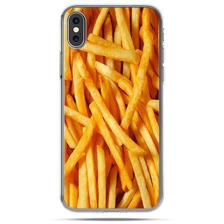 Etui na telefon iPhone X - frytki