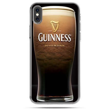 Etui na telefon iPhone X - Guinness