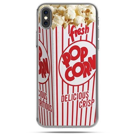 Etui na telefon iPhone X - Pop Corn