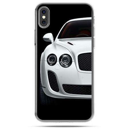 Etui na telefon iPhone X - samochód Bentley
