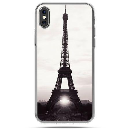Etui na telefon iPhone X - Wieża Eiffla
