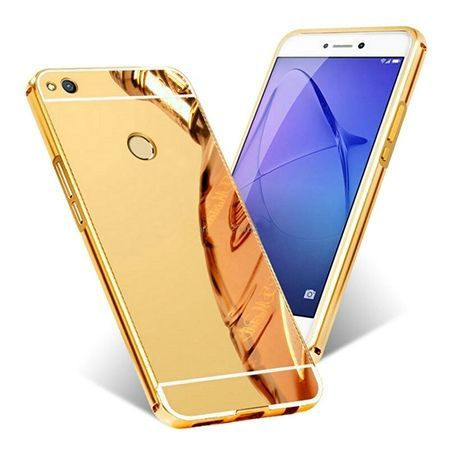 Mirror bumper case na Huawei P9 Lite 2017 - Złoty