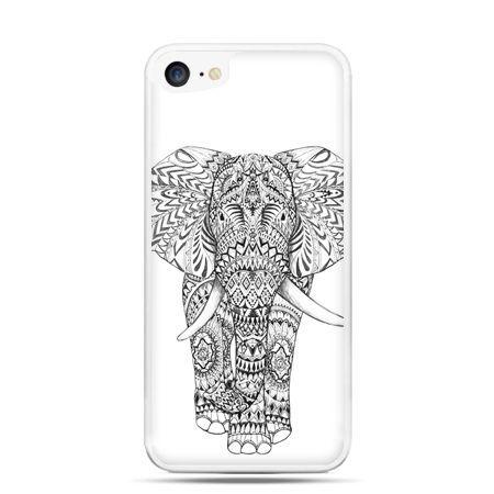Etui na telefon iPhone 7 - Indyjski słoń